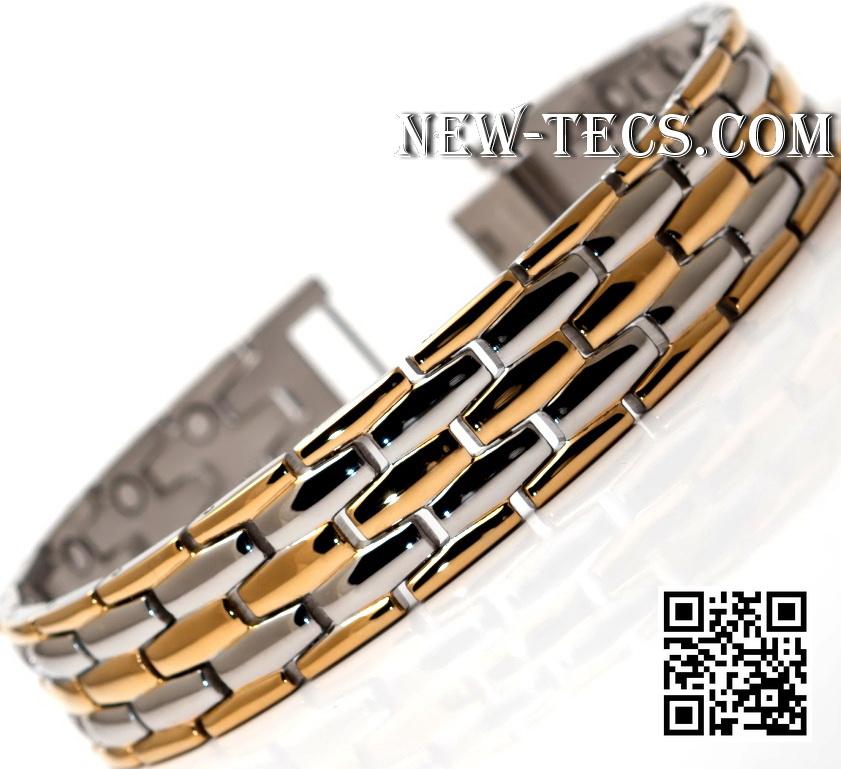 Магнитный браслет 8160GSt-IR