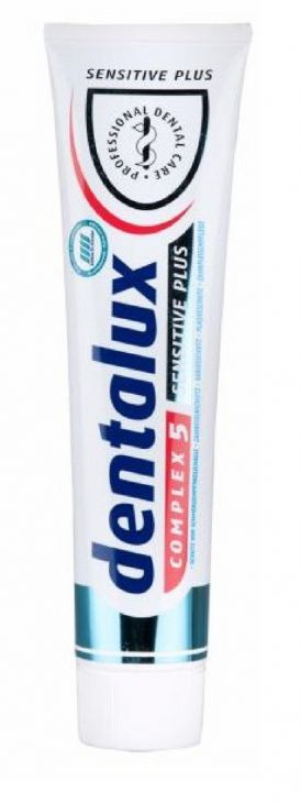 Dentalux Sensitive Plus 125 мл зубная паста