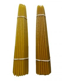 Свечи высший сорт №4 вес 410 гр., высота 300 мм., диаметр 7 мм., 50 свечей в пачке.