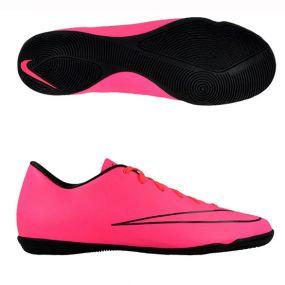 Детские футзалки Nike Mercurial Victory V IC розовые