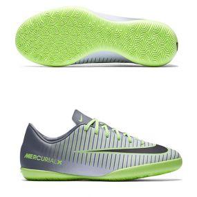 Детские футзалки Nike Mercurial Vapor XI IC серые