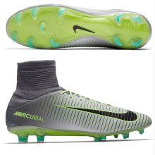 Бутсы Nike Mercurial Veloce III Dynamic Fit FG серые