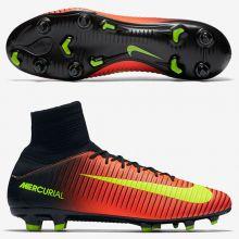Бутсы Nike Mercurial Veloce III Dynamic Fit FG оранжевые