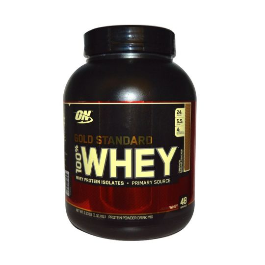 Протеин Optimum Nutrition 100% Whey protein Gold standard 3,27 lb (1,6 кг)