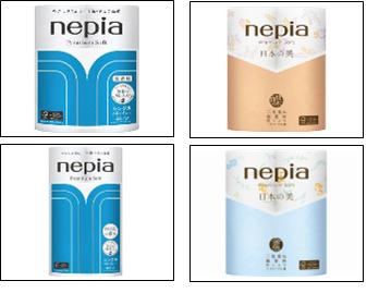 """NEPIA"" ""Premium Soft""  Однослойная туалетная бумага"