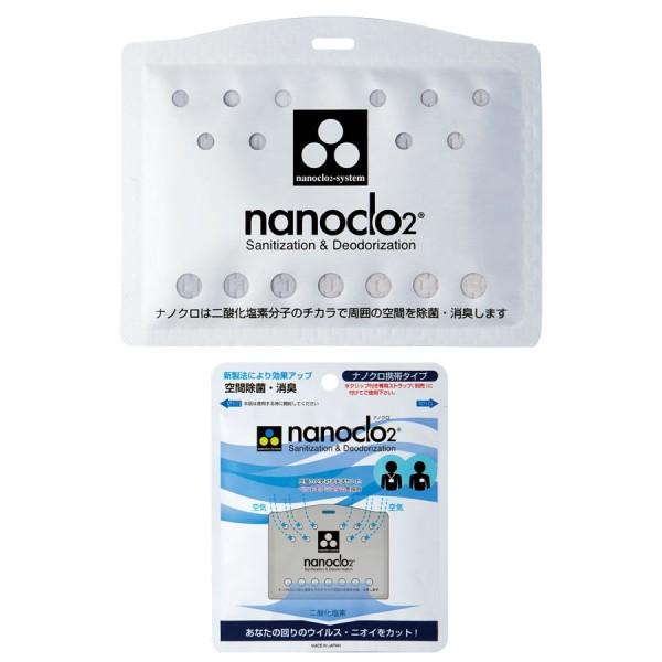 683012 Средство дезинфецирующее NANOCLO 2 (блокатор вирусов) бейджик