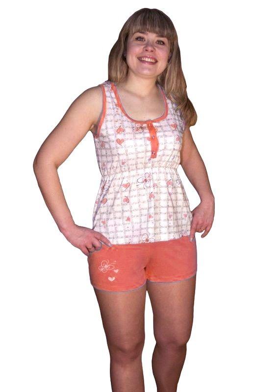 Пижама женская Розовый лотос
