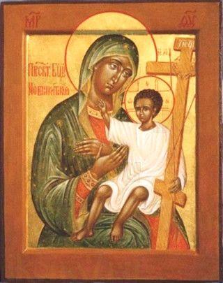 Новоникитская икона Божией Матери (рукописная)