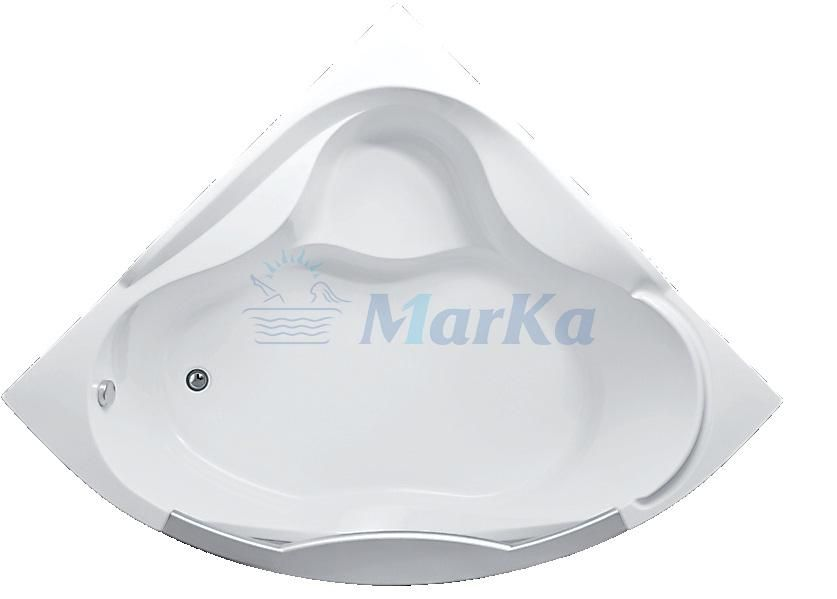 Акриловая ванна 1MarKa Grand Luxe 155x155