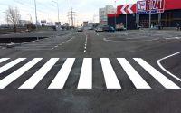 """Трафарет """"Пешеходный переход (Зебра)"""" для дорожной разметки 1.14.1 или 1.14.2"""