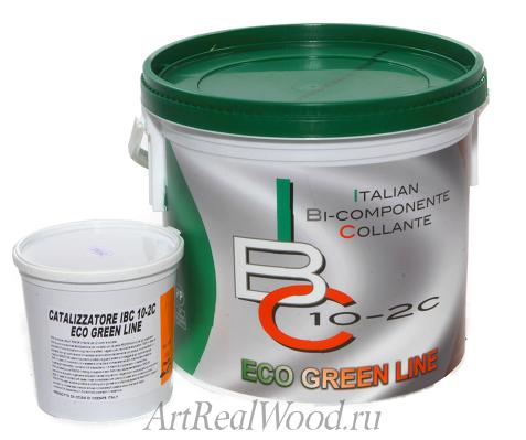 Паркетный клей IBC 10-2c ECO GREEN LINE Recoll-ICAR