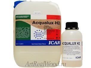 Паркетный лак ACQUALUX H2 Recoll-ICAR