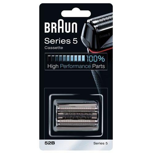 Бритвенная кассета для бритвы Braun 5 серии (52B) черная