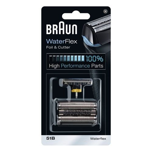 Сетка+режущий блок для бритвы Braun WaterFlex, 51B