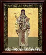 Марк Ефесский (19х22), темный киот