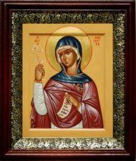 Маргарита Антиохийская (19х22), темный киот