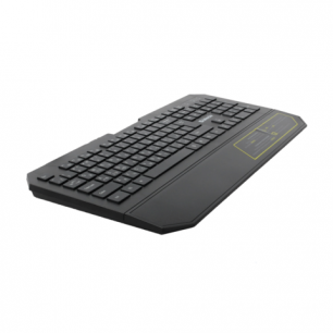 Клавиатура проводная DEFENDER Oscar SM-600, мультимидийная, USB, черн., 45602