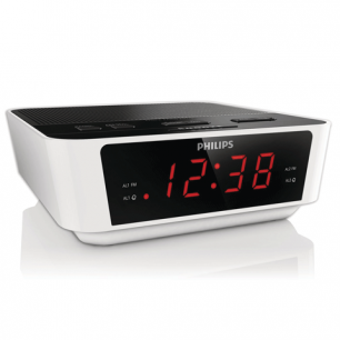 Часы-радиобудильник PHILIPS AJ3115/12, ЖК-дисплей, FM/MW диапазон, 2 вида сигнала, повтор, таймер