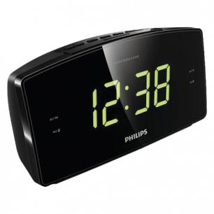 Часы-радиобудильник PHILIPS AJ3400/12, ЖК-дисплей, FM диапазон, 2 вида сигнала, повтор, таймер
