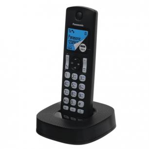 Радиотелефон PANASONIC KX-TGC320RU1, пам 50ном, АОН, черный