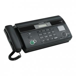 Факс PANASONIC KX-FT984RUB термобумага (рулон), автообрезка, спикерфон, справочник 100 ном