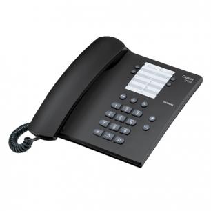 Телефон SIEMENS Gigaset DA 100, пам 14 ном., повтор номера, тональный/импульсный набор, цв.антрацит