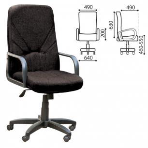 """Кресло офисное """"Менеджер"""", черное (В-14)"""