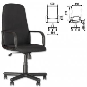 """Кресло офисное """"Diplomat"""", черное С-11, ш/к 33761"""