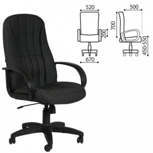 """Кресло офисное """"Классик"""", СН 685, черное 10-356"""