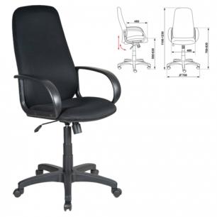 Кресло офисное CH-808AXSN, черное TW-11, ш/к 01243