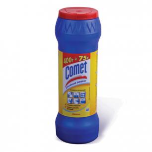 """Чистящее средство COMET (Комет)  400/475г, """"Лимон"""", порошок, ш/к 05938, 83807"""