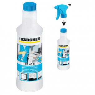 Средство чистящее KARCHER (КЕРХЕР)  CA40R, для стекол, 0,5 л, БЕЗ РАСПЫЛИТЕЛЯ, 6.295-687.0