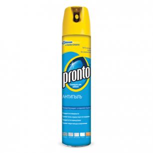 Полироль для мебели PRONTO (Пронто)  антипыль 250мл, аэрозоль, ш/к 03506