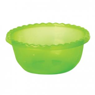 Миска-салатник 8л IDEA, круглая, диаметр 35 см, высота 14 см, цвет салатовый, М 1314