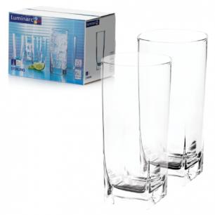 """Набор посуды стаканы для сока, виски LUMINARC """"STERLING"""", 6 шт, 330 мл, высокие, стекло, H7666"""