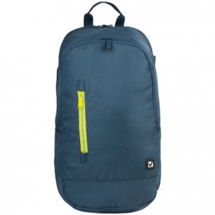 Рюкзак BRAUBERG B-HB1606 ст.класс/студ, мальч., Синий с желтой молнией, 50*31*20 cм, 225356