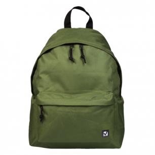 Рюкзак BRAUBERG B-HB1632 ст.класс/студенты/молодежь, сити-формат, Один тон Зеленый, 41*32*14, 225382