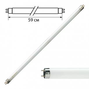 Лампа люминесцентная PHILIPS TL-D 18W/54-765, 18Вт, цокольG13, в виде трубки 59см, хол.дневной свет