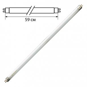 Лампа люминесцентная OSRAM L18/765, 18Вт, цокольG13, в виде трубки, длина 59см, дневной белый свет