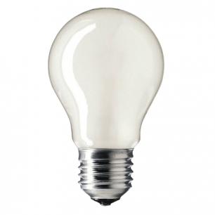 Лампа накаливания PHILIPS A55 FR E27, 75Вт, грушевидн., матовая, колба d=55мм, цоколь d=27мм, 354747