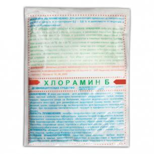 Средство дезинфицирующее ХЛОРАМИН-Б, 15кг, порошок, 50 пакетов по 300г, ш/к 07561