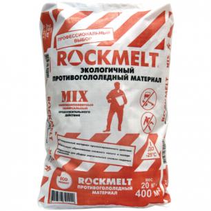 Реагент антигололедный ROCKMELT Mix (Рокмелт Микс)  20кг, до -25С, мешок, ш/к 90929