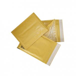 Конверт-пакет с просл. из пузыр. пленки КОМПЛЕКТ 10шт, 150х210мм, отр.полоса, крафт-бум, КОРИЧ, С/0-G.10