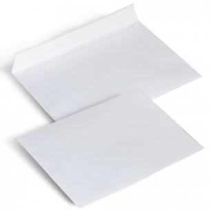 Конверты С6, КОМПЛЕКТ 1000шт., отрывная полоса STRIP, белые, 114х162мм, ш/к-72127