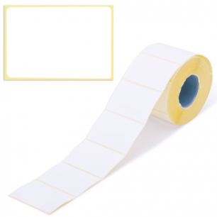 Этикетка ТермоТоп, для термопринтера и весов 58*40*700шт (ролик), светостойкость до 12мес. 126104