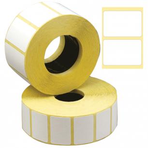 Этикетка ТермоЭко, для термопринтера и весов 30*20*2000шт (ролик), светостойкость до 2 мес.