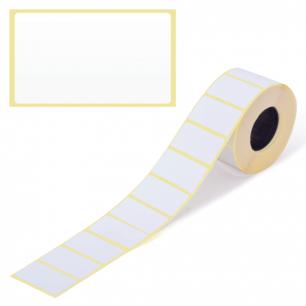 Этикетка ТермоЭко, для термопринтера и весов 43*25*1000шт (ролик), светостойкость до 2 мес.