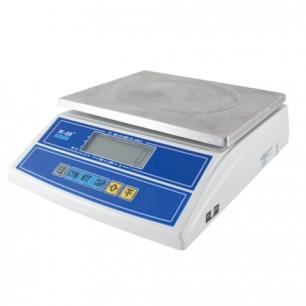 Весы фасовочные MERCURY M-ER 326FL-6.1 LCD (0,04-6кг), дискретность 1г, платформа 280x235мм, без стойки