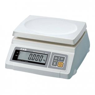 Весы фасовочные CAS SW-10 (0,1-10кг), дискретность 5г, платформа 241х192мм, без стойки