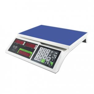 Весы торговые MERCURY M-ER 326-15.2 LED (0,05-15кг), дискретность 2г, платформа 325x230мм, без стойки